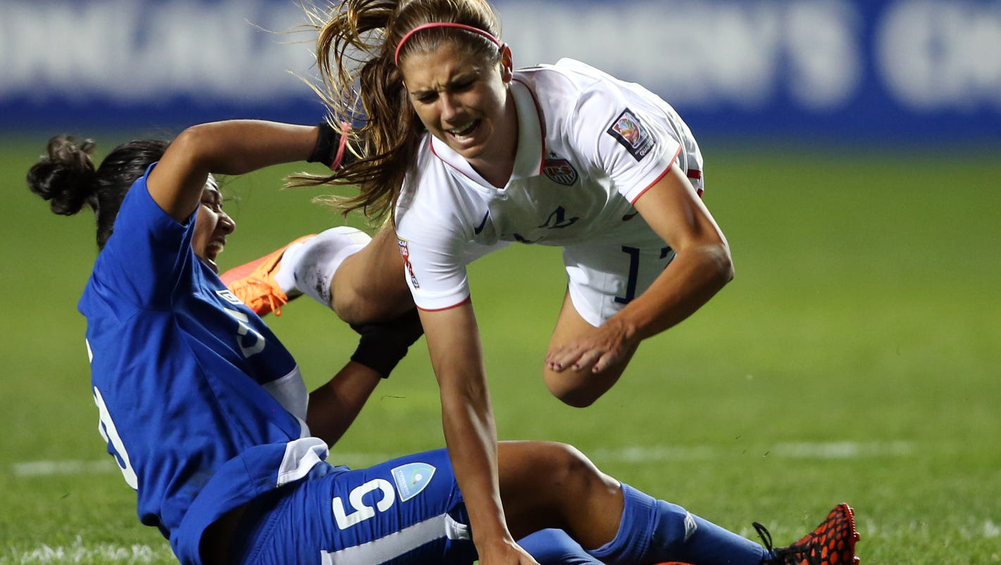 Alex Morgan out for rest of World Cup qualifying with ... A Cup Vs C Cup