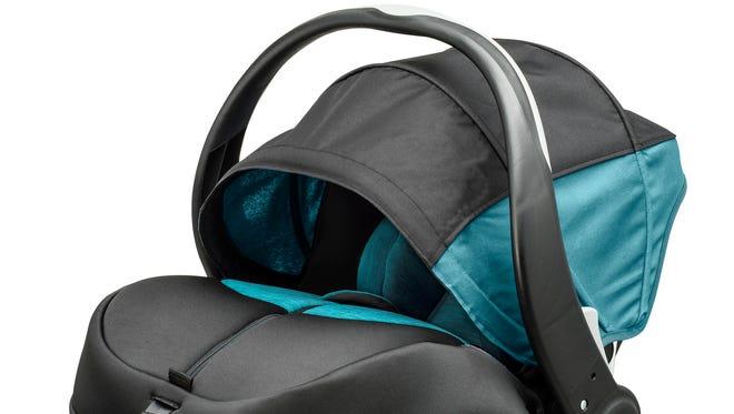 Advanced Evenflo SensorSafe DLX car seat.