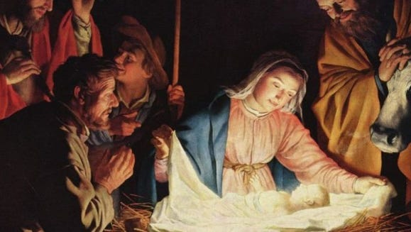 Christmas worship services.