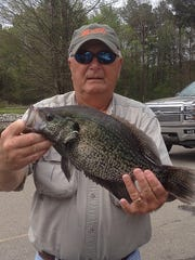 With its quality and numbers, Barnett Reservoir is hard to beat for crappie fishing.