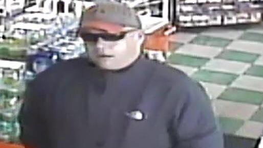 Knox County authorities are searching for a man accused of robbing a gas station on Saturday, March 17, 2018.