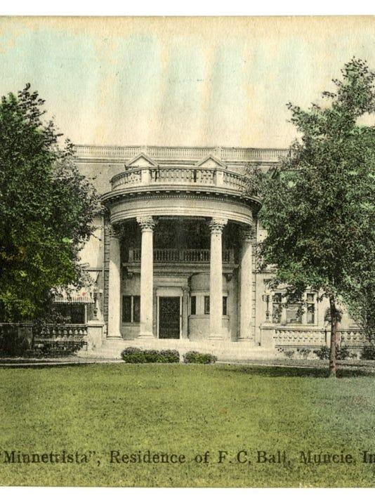 Frank C. Ball house BSU Archives