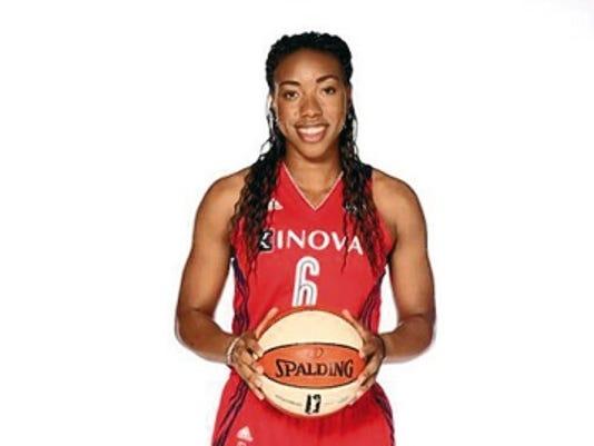 Kayla Thornton in the WNBA