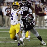 Guice, White among LSU's 5 on Coaches' All-SEC 1st team