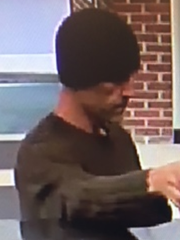 Police are seeking this suspect in connection with Friday's robbery of a TD Bank in Haddon Heights.