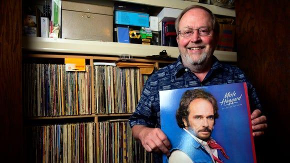 Joe Morrison, a long-time DJ for KXRB, poses for a