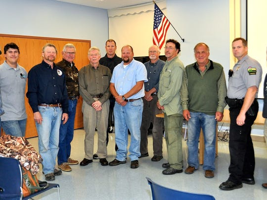 The Door County Deer Advisory Council held its first