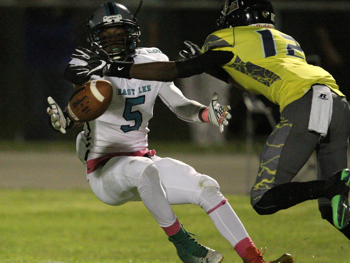 Lehigh, which beat rival East Lee County last week, is No. 5 in the Lee County Fab 5. The Lightning control their own destiny in the chase for a playoff berth when they face Estero next week.