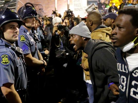 Ferguson faceoff