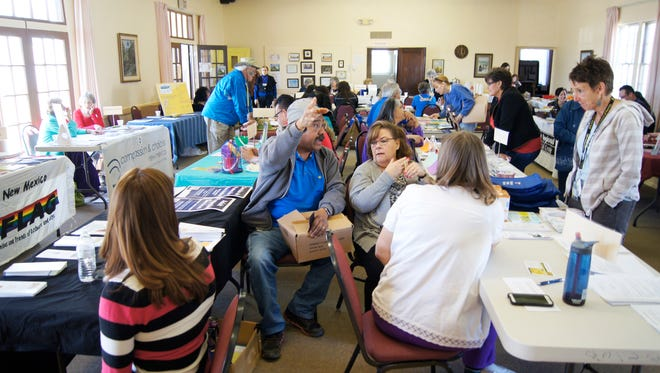 More than a dozen agencies gathered last year to provide information and assistance at the Silver City Woman's Club's Community Outreach Day. The event returns to Silver  City on March 19.
