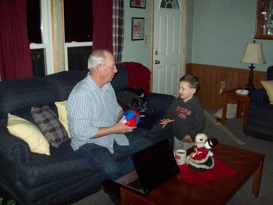 Dennis Liebe, 76, was a grandfather to five grandchildren.