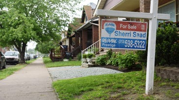 Residential property values going up in Detroit