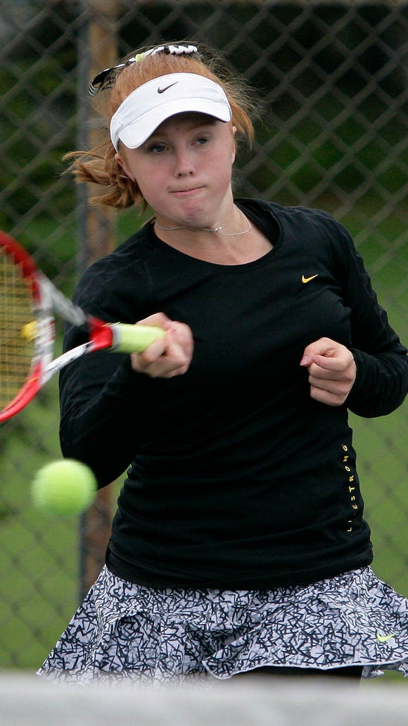 Williamston's Sara Daavettila, who is committed to