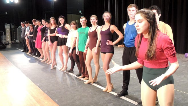 """Harrison High School's production of """"A Chorus"""" will participate in the 2014 Metropolitan High School Theater Awards. Nominees for the 2014 Metros will be announced on a live webcast on lohud.com at 7 p.m., Monday, May 12. Harrison won last year's outstanding overall production Metro for """"Crazy for You."""""""