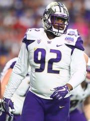 Jaylen Johnson is one of the defensive linemen being