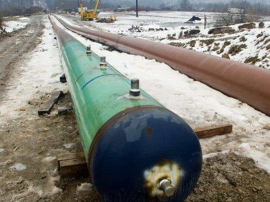 The Constitution Pipeline, pictured in January 2015,