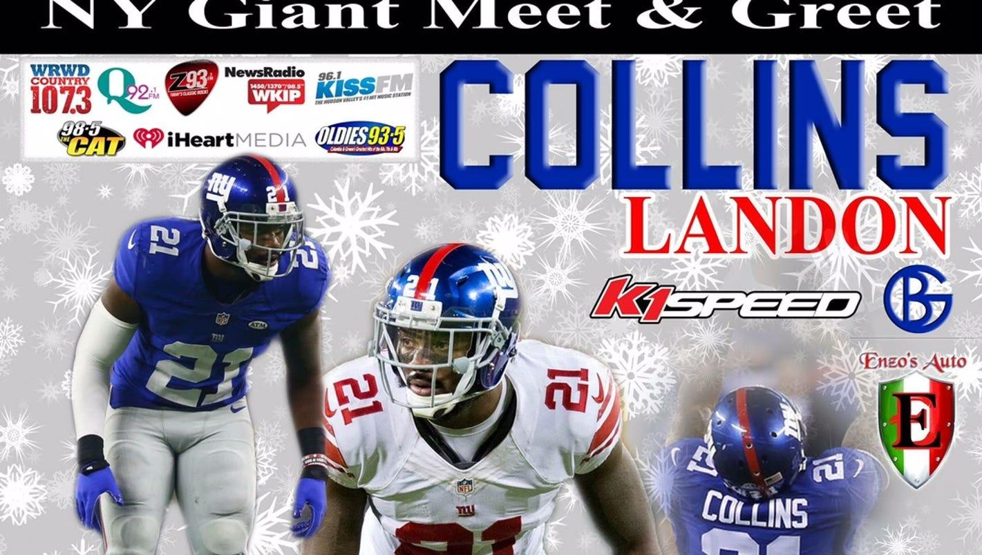 Giants star Landon Collins ing to Poughkeepsie next week