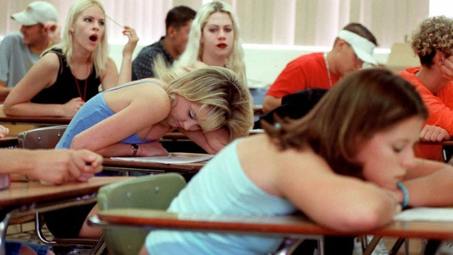 86% of the nation's high schools start before 8:30 a.m.