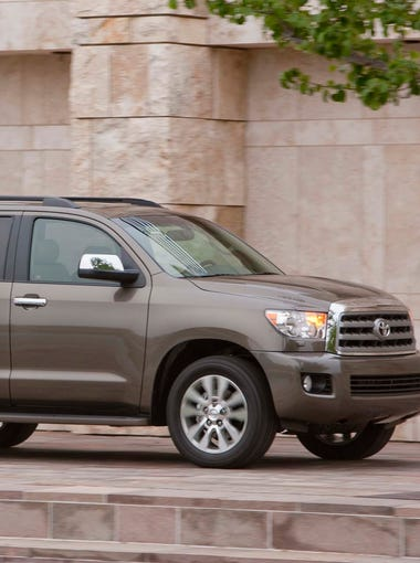25. Toyota SequoiaÊfour-door 4WDAnnual average insurance