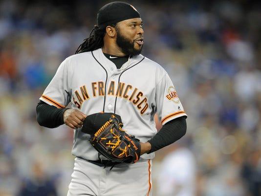 USP MLB: SAN FRANCISCO GIANTS AT LOS ANGELES DODGE S [BBA OR BBN] USA CA