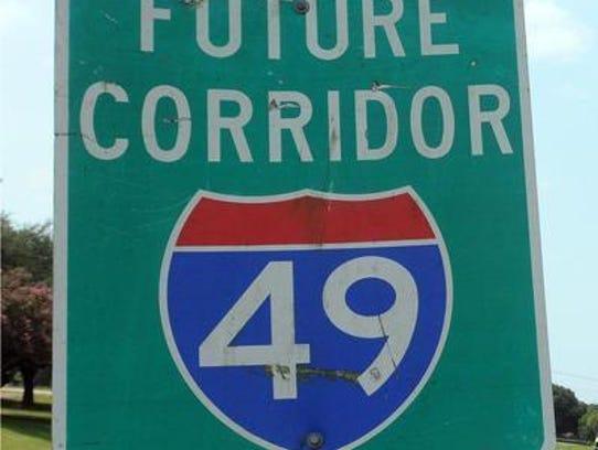 I-49 Lafayette.