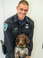 This undated photo provided by Wayne State University shows university police officer Collin Rose, who was shot in the head while on patrol near a university campus in Detroit on Tuesday, Nov. 22, 2016. Rose, a five-year veteran of the department. died from his injuries on Wednesday, Nov. 23. He was 29.