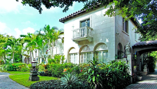 The house that just sold for a recorded $17 million at 127 Dunbar Road in Palm Beach was built in 1920 and 1921 but underwent a major additions after a 1928 hurricane battered Palm Beach. The house is one lot west of the beach.