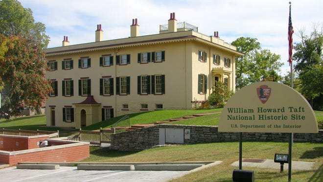 William Howard Taft grew up in this house.