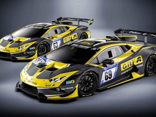 Dennis Trebing will be driving the Lamborghini Super