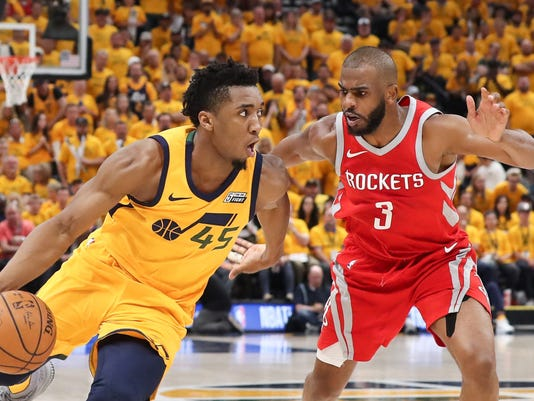 USP NBA  PLAYOFFS-HOUSTON ROCKETS AT UTAH JAZZ S BKN UTA HOU USA UT 51a05c5d9