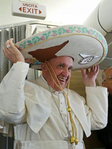 La visita del papa Francisco a México en fotos: el