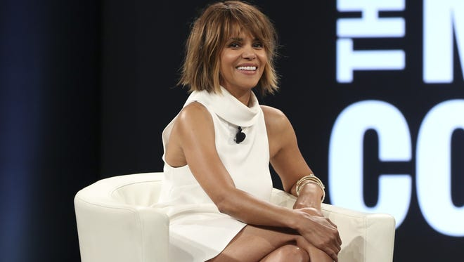 Halle Berry at the 2016 MAKERS Conference on Feb. 2, 2016 in Rancho Palos Verdes, Calif.
