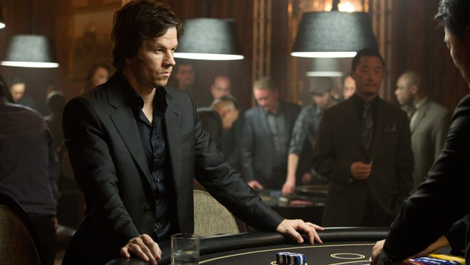 """In this image released by Paramount Pictures, Mark Wahlberg appears in a scene from """"The Gambler."""""""