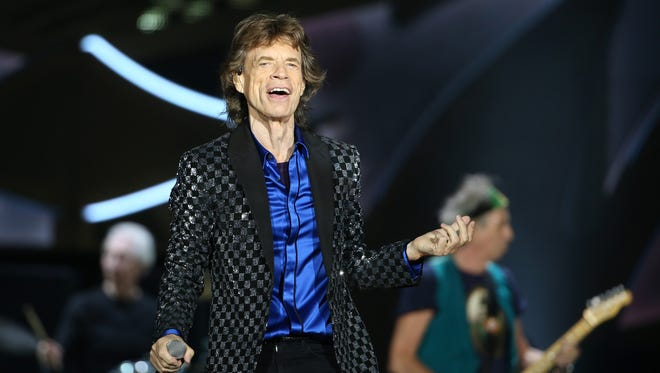 Lead singer Mick Jagger will be in action June 23 at the Marcus Amphitheater when the Rolling Stones play Milwaukee on their Zip Code Tour.
