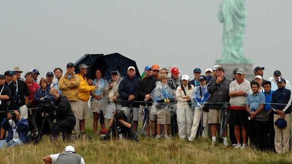 In 2009, Tiger Woods played in a PGA Tour event at