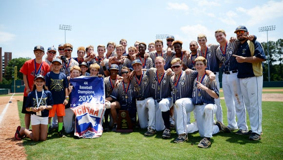 Roberson won the NCHSAA 4-A baseball championship in