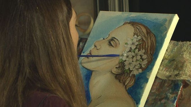 Paralyzed Painter