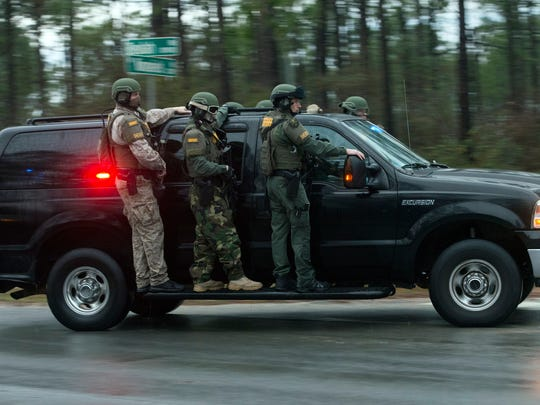 Members of the Escambia County Sheriff's Office SWAT