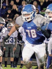 BGM's Cooper Puls was named first team offensive line to the Des Moines Register's Class A All-State football team this past week.