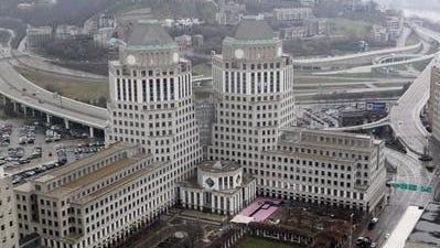P&G headquarters in Downtown Cincinnati.