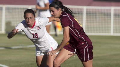 Senior Cali Farquharson scored her third career hat trick Friday night in a 4-1 win at Ariziona.