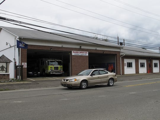 The Wellsburg Fire Department still operates out of its old flood-damaged firehouse.