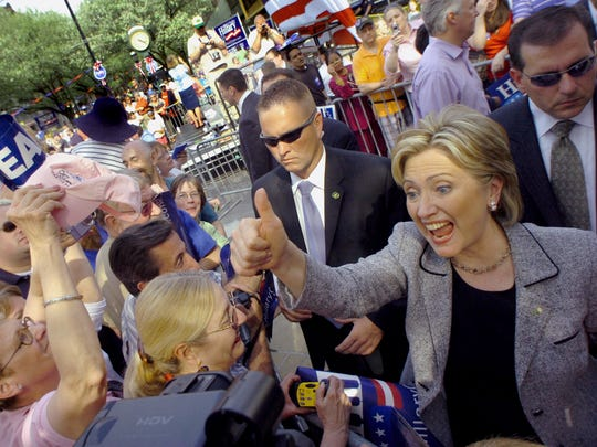 In 2008, Hillary Clinton held a presidential campaign