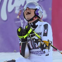 'Blood, sweat and tears': Lindsey Vonn back on top with downhill win
