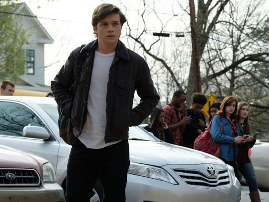 Nick Robinson plays a closeted high schooler trying