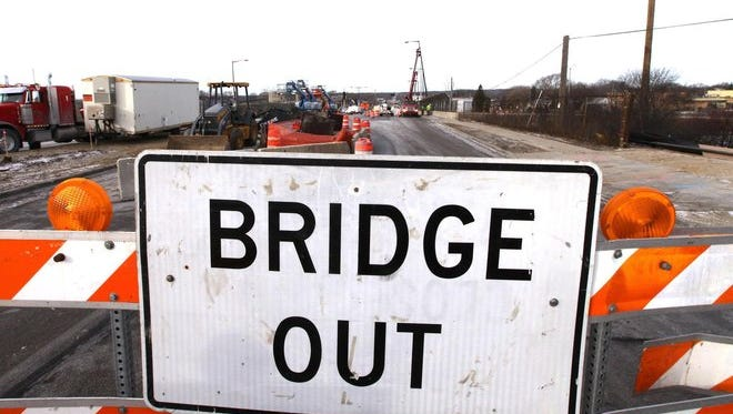 The North 25th Street Bridge will close for repairs on July 9 and remain closed through early August.