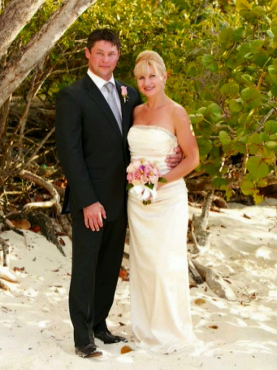 Joe and Olga got married in St. John