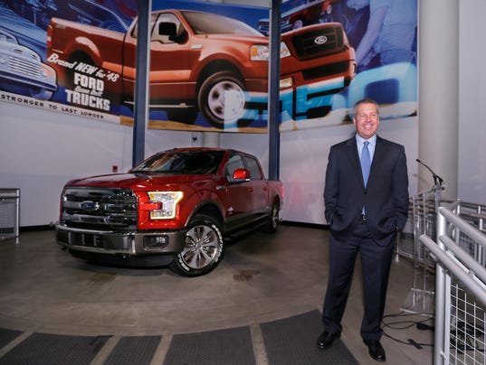 Ford adding 850 jobs at dearborn f 150 plant for Ford motor company jobs dearborn mi