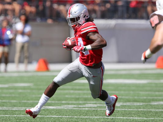 NCAA Football: Bowling Green at Ohio State
