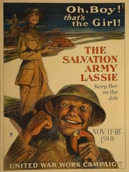 """Doughnuts for Doughboys: A Salvation Army Lassie in"